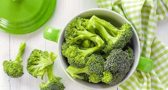 Bông cải xanh phòng bệnh á sừng