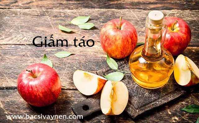 Chữa bệnh vẩy nến bằng dầu dừa và giấm táo