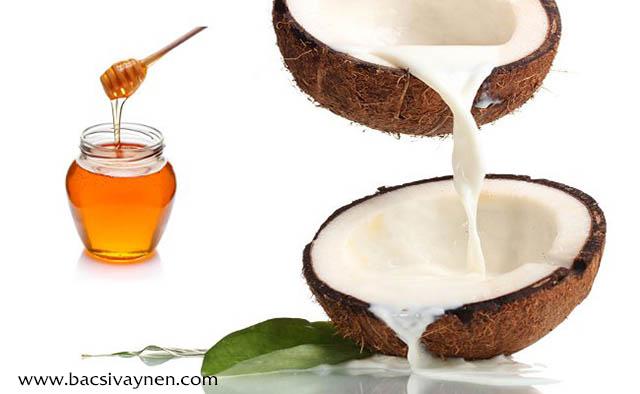 Chữa vẩy nến bằng dầu dừa và mật ong