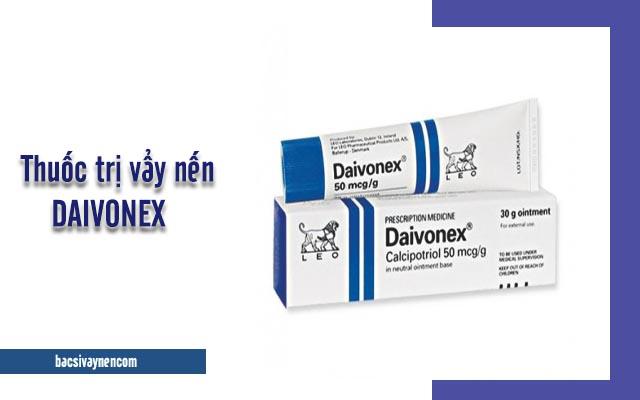 thành phần và công dụng của thuốc bôi Daivonex