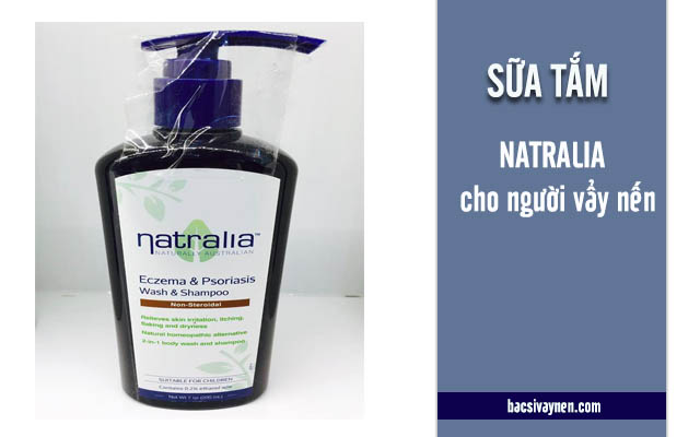 sữa tắm Natralia chữa vẩy nến