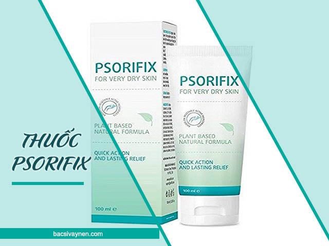 thành phần và công dụng của thuốc Psorifix