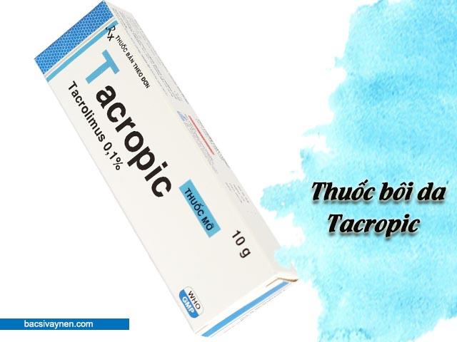 thuốc bôi da Tacropic