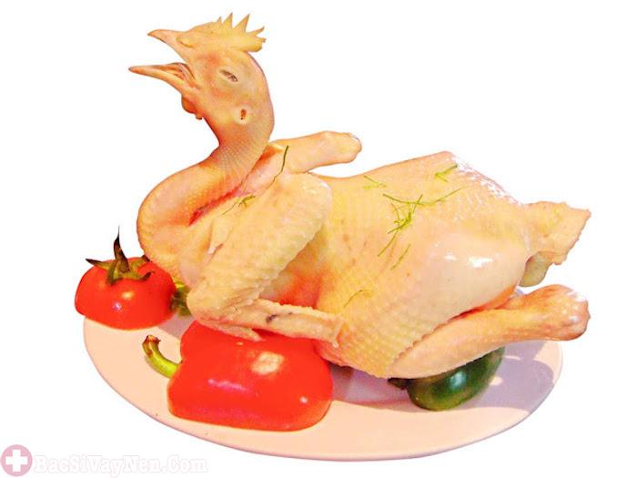 Bệnh vẩy nến có nên ăn thịt gà không