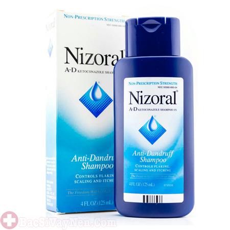 Dầu gội Nizoral trị á sừng da đầu