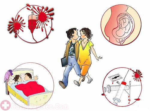 Bệnh HIV có khả năng lây nhiễm qua tiếp xúc còn vảy nến thì không