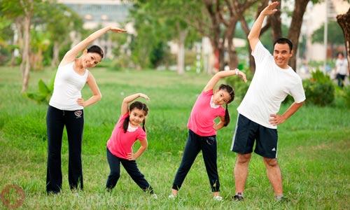 Luyện tập thể dục thể thao phòng ngừa bệnh vẩy nến