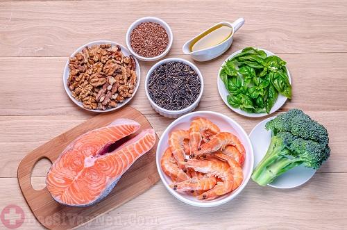 Thực phẩm giàu omega -3 mà người bị bệnh á sừng nên ăn