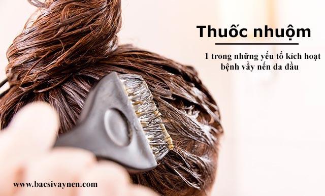 Yếu tố kích hoạt cho bệnh vẩy nến da đầu