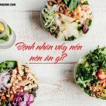 Các món ăn tốt cho người bệnh vẩy nến